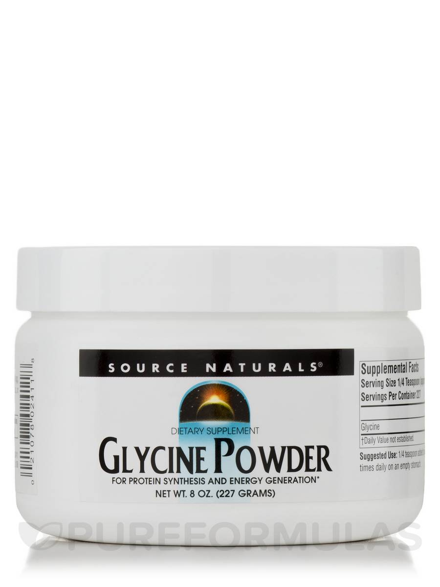 Glycine Powder - 8 oz (227 Grams)
