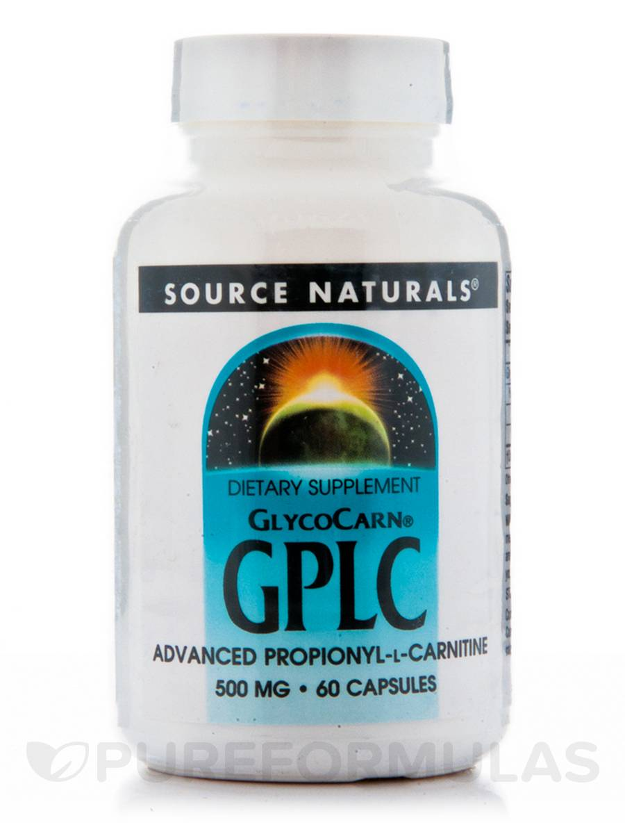 GlycoCarn GPLC 500 mg - 60 Capsules