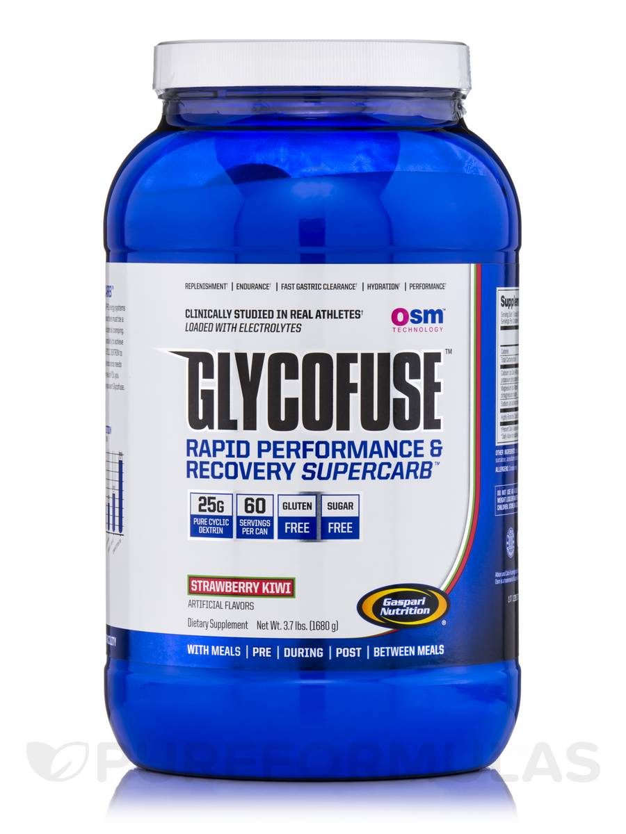 Glycofuse Strawberry Kiwi - 60 Servings (3.7 lbs / 1680 Grams)