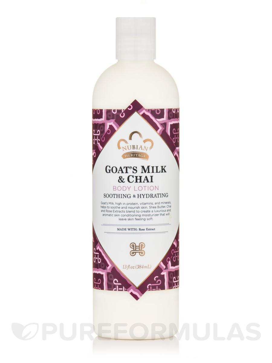 Goat's Milk & Chai Body Lotion - 13 fl. oz (384 ml)