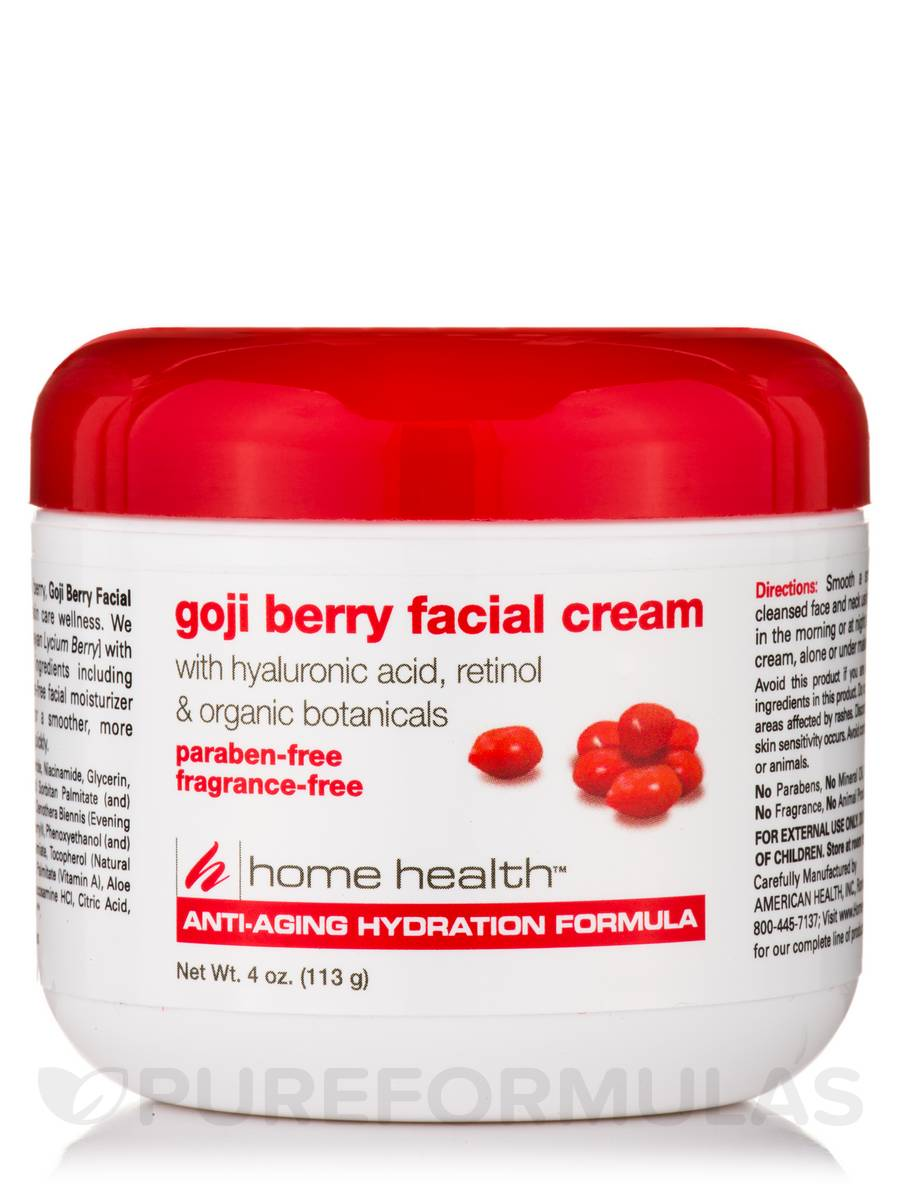 Goji Berry Facial Cream 4 Oz 113 Grams