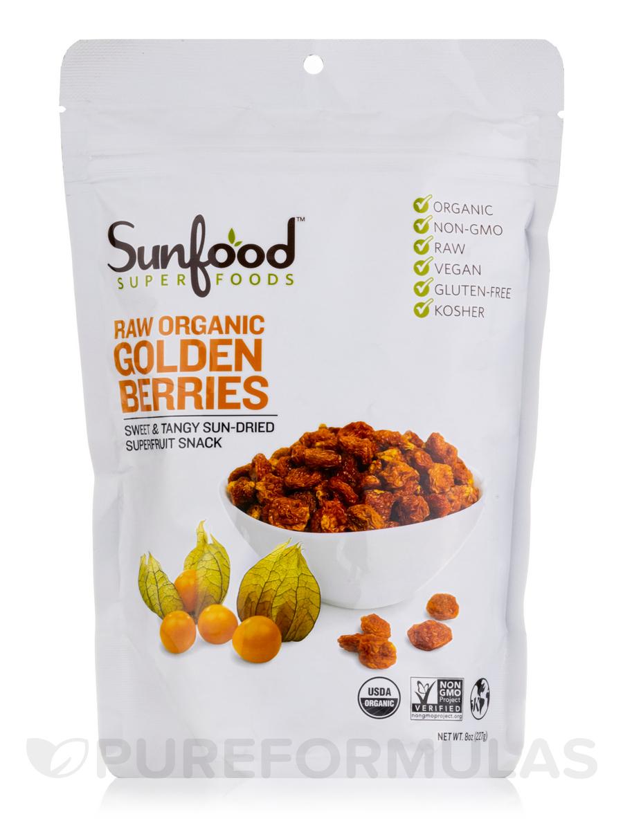Golden Berries, Organic, Raw - 8 oz (227 Grams)