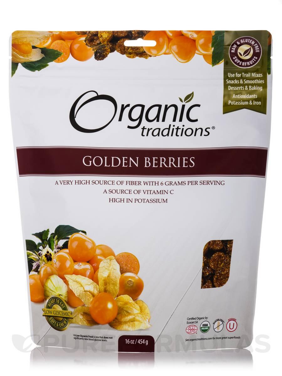 Golden (Inca) Berries - 16 oz (454 Grams)