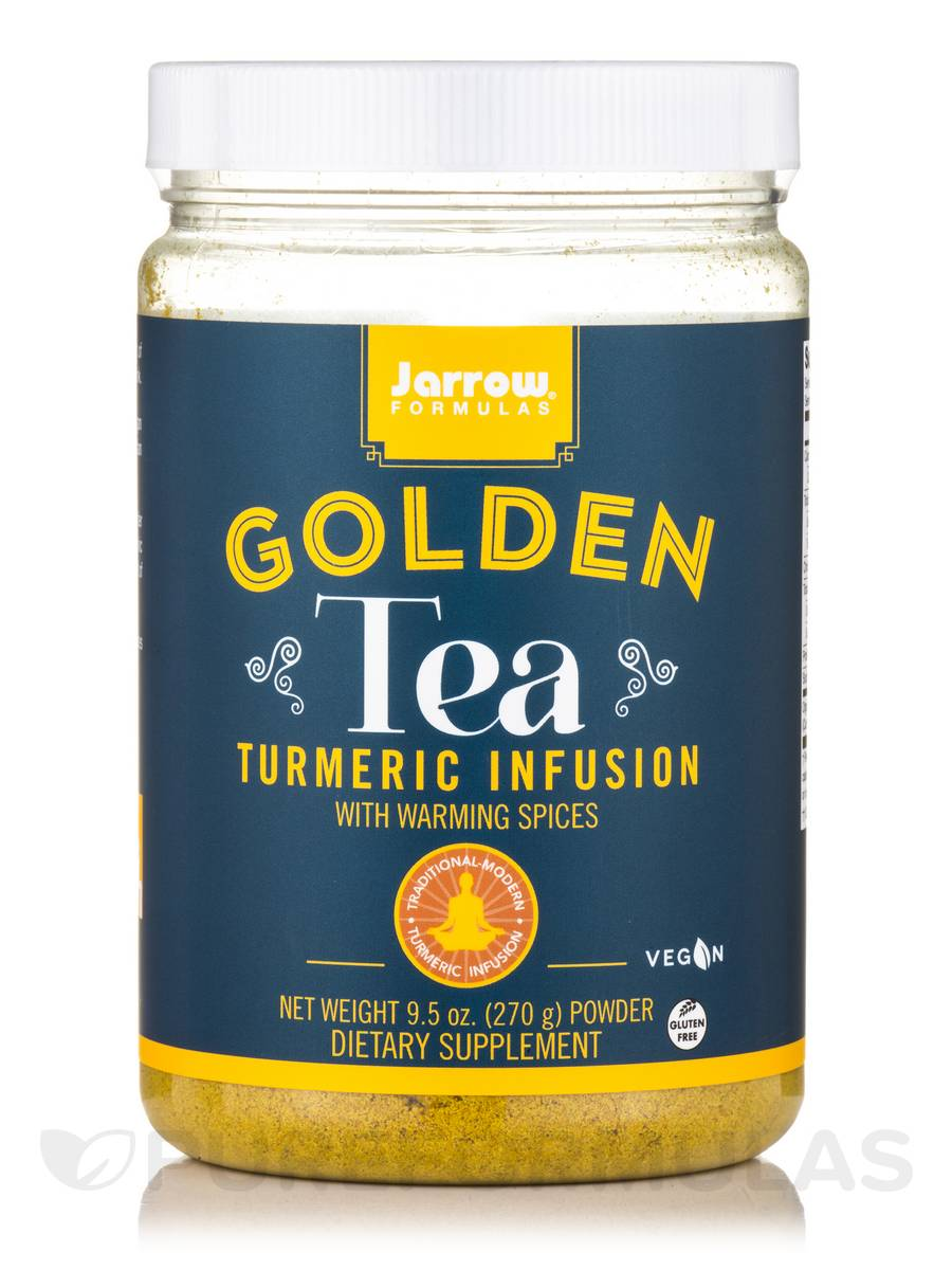 Golden Tea Turmeric Infusion with Warming Spices - 9.5 oz (270 Grams)