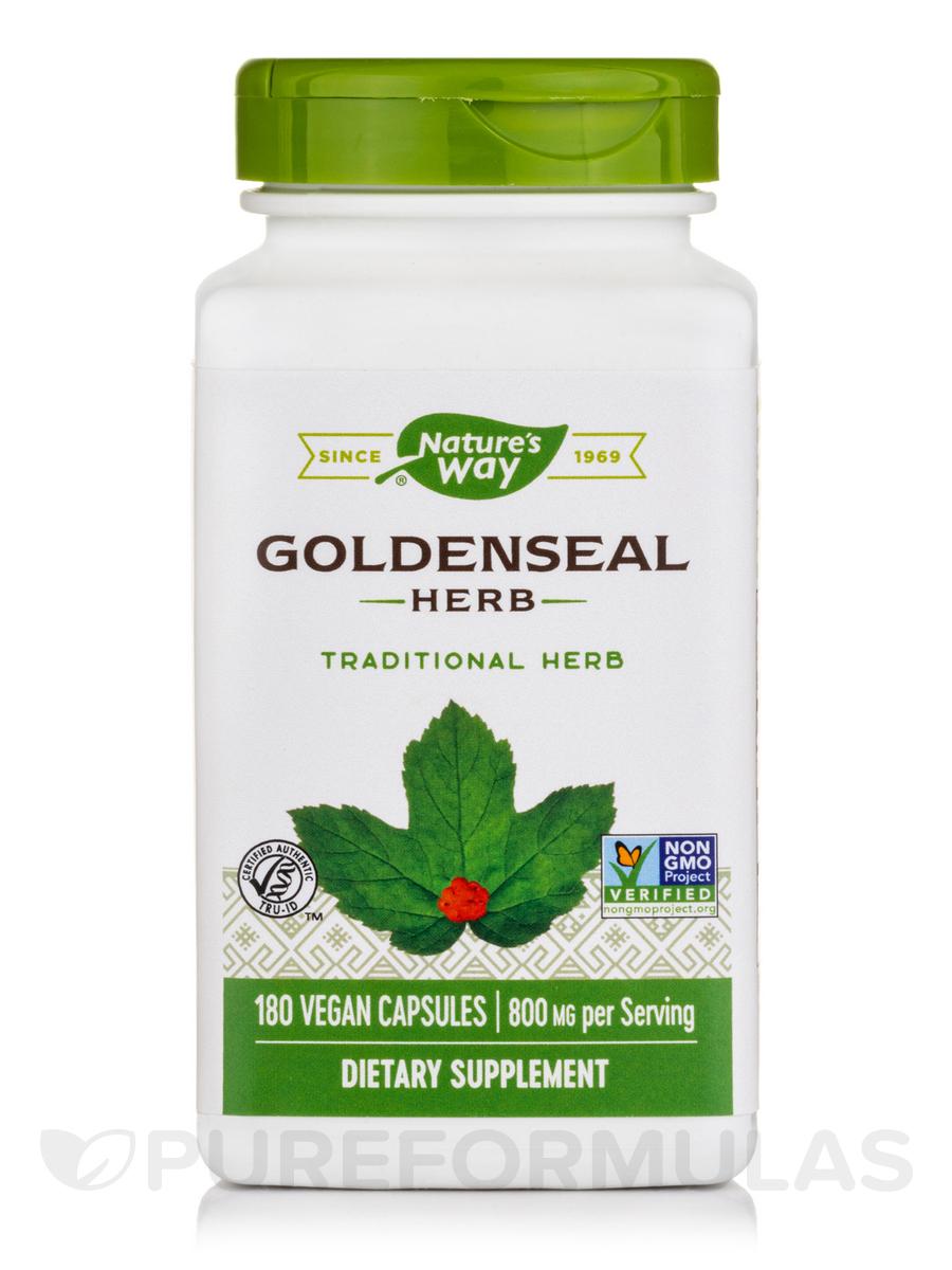 Goldenseal Herb - 180 Capsules