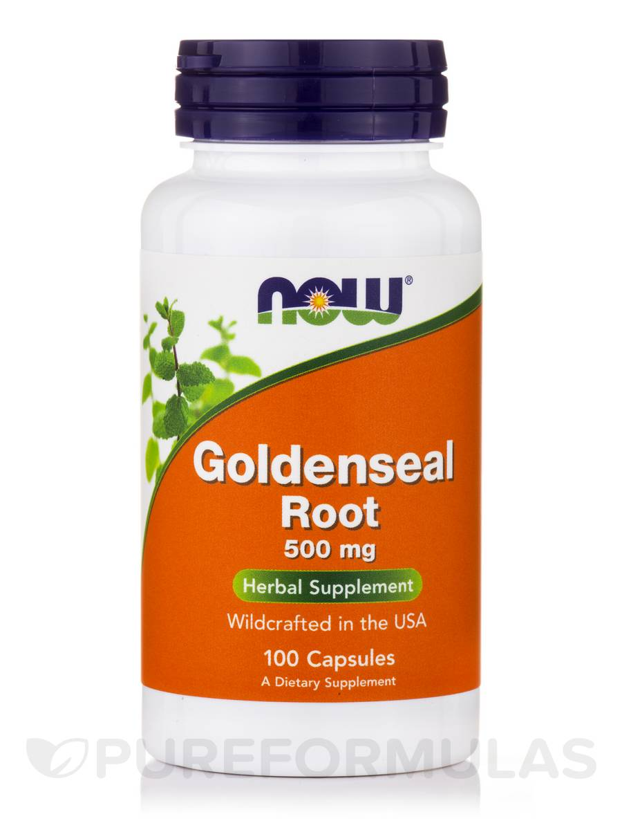 Goldenseal Root 500 mg - 100 Capsules