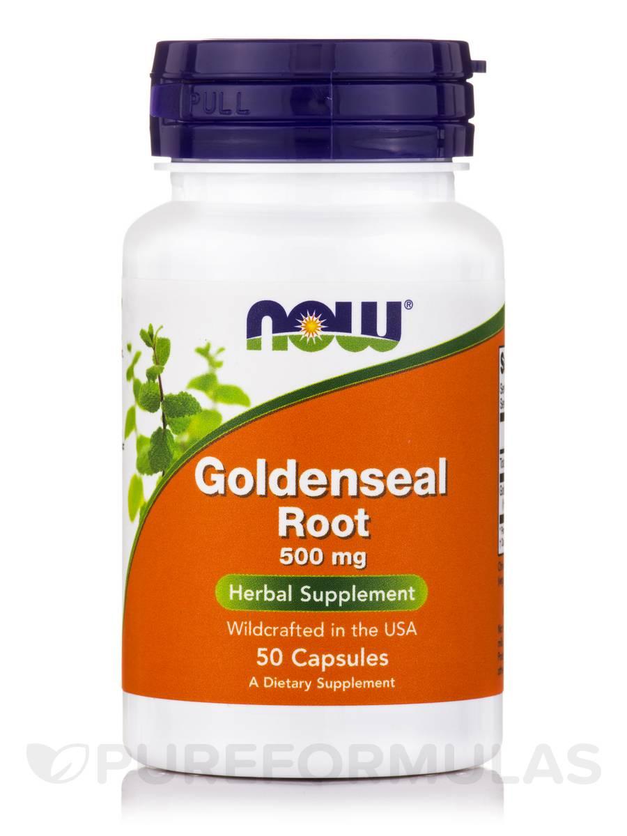 Goldenseal Root 500 mg - 50 Capsules