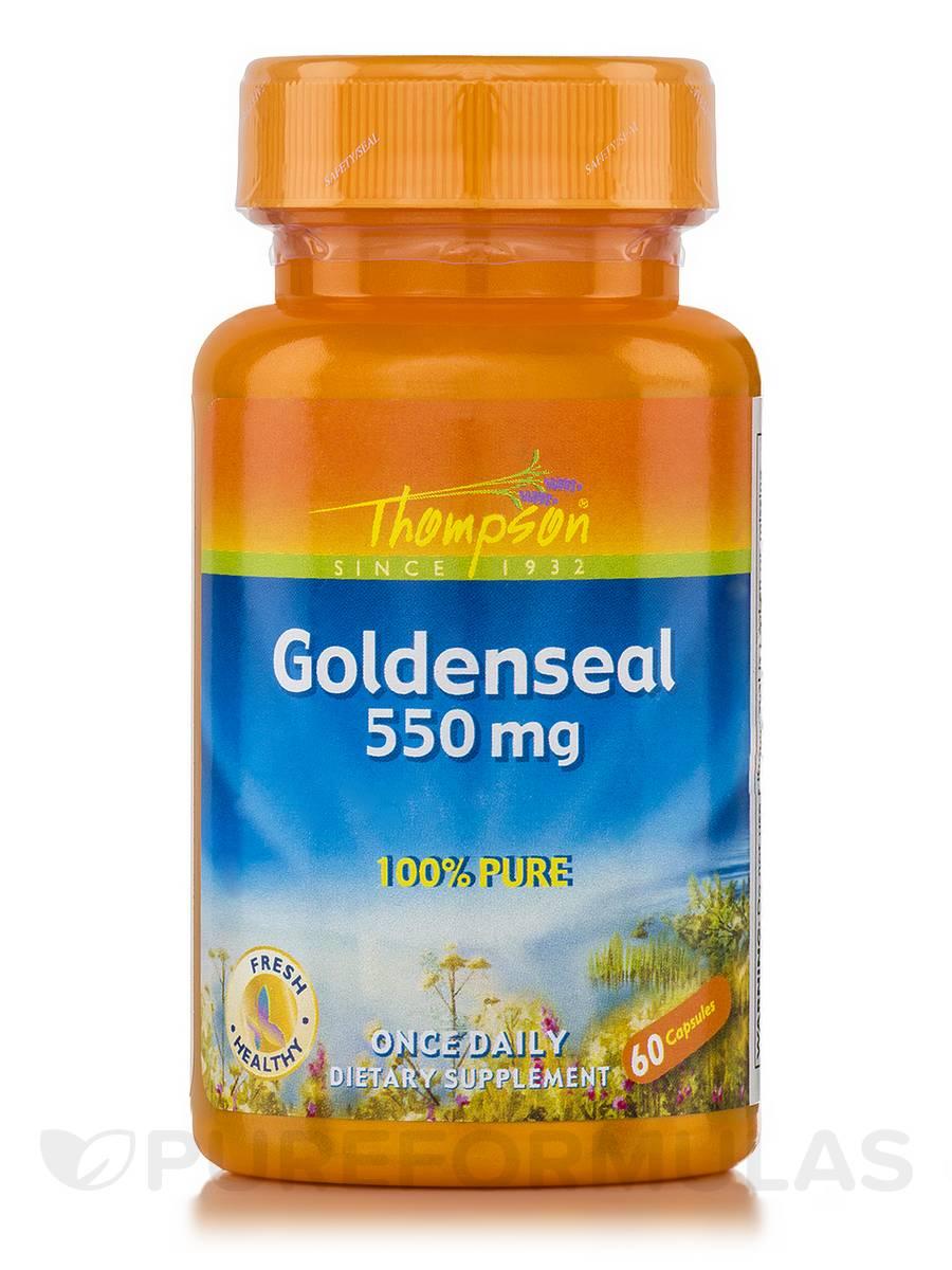 Goldenseal 550 mg - 60 Capsules