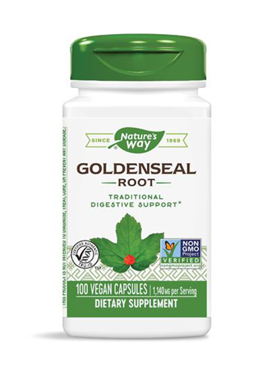 Goldenseal Root 570 mg - 100 Capsules