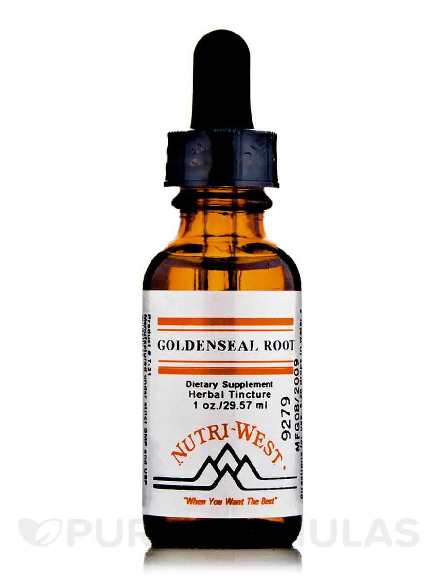 Goldenseal Root (Herbal Tincture) - 1 oz (29.57 ml)