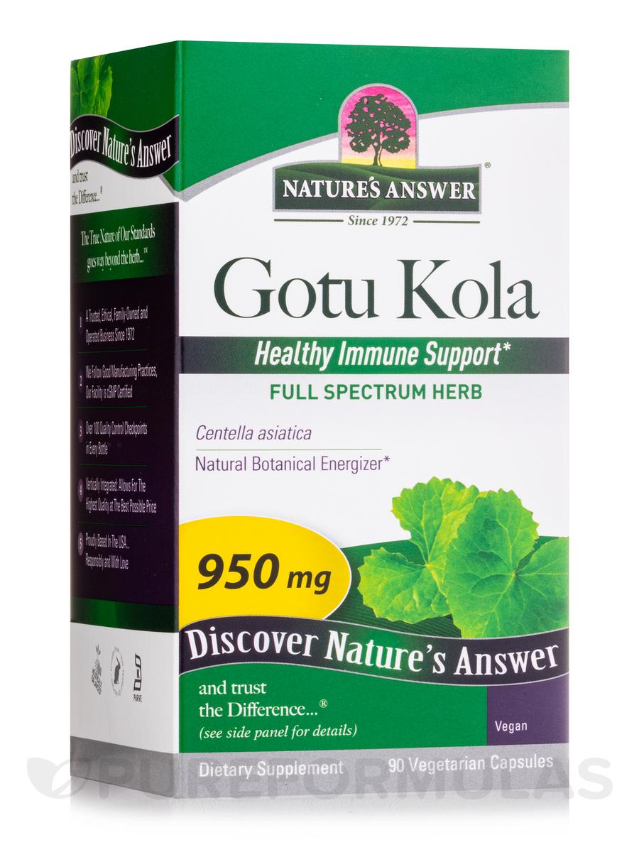 Gotu-Kola Herb - 90 Vegetarian Capsules