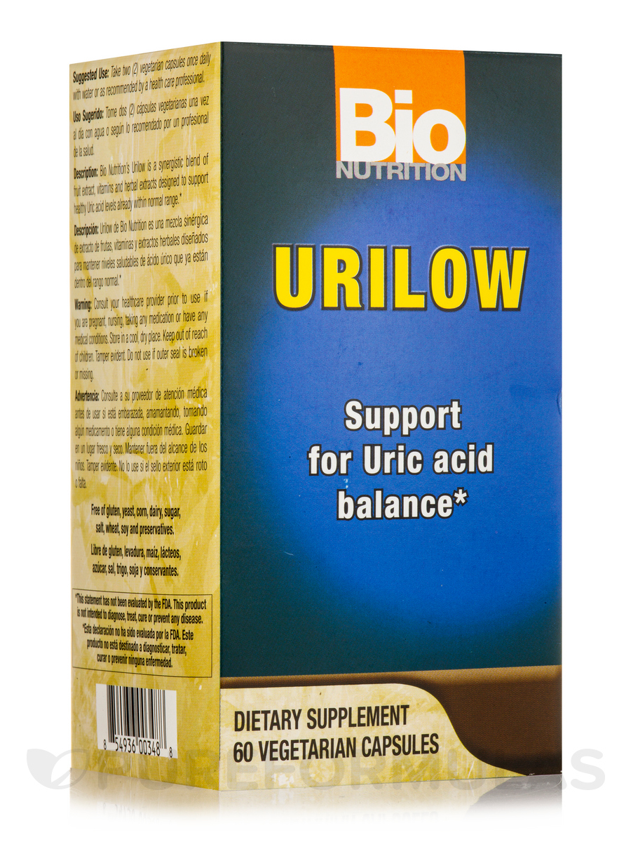 Gout Out - 60 Vegetarian Capsules