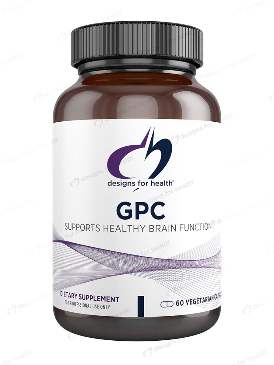 GPC (Glycerophosphocholine) - 60 Vegetarian Capsules