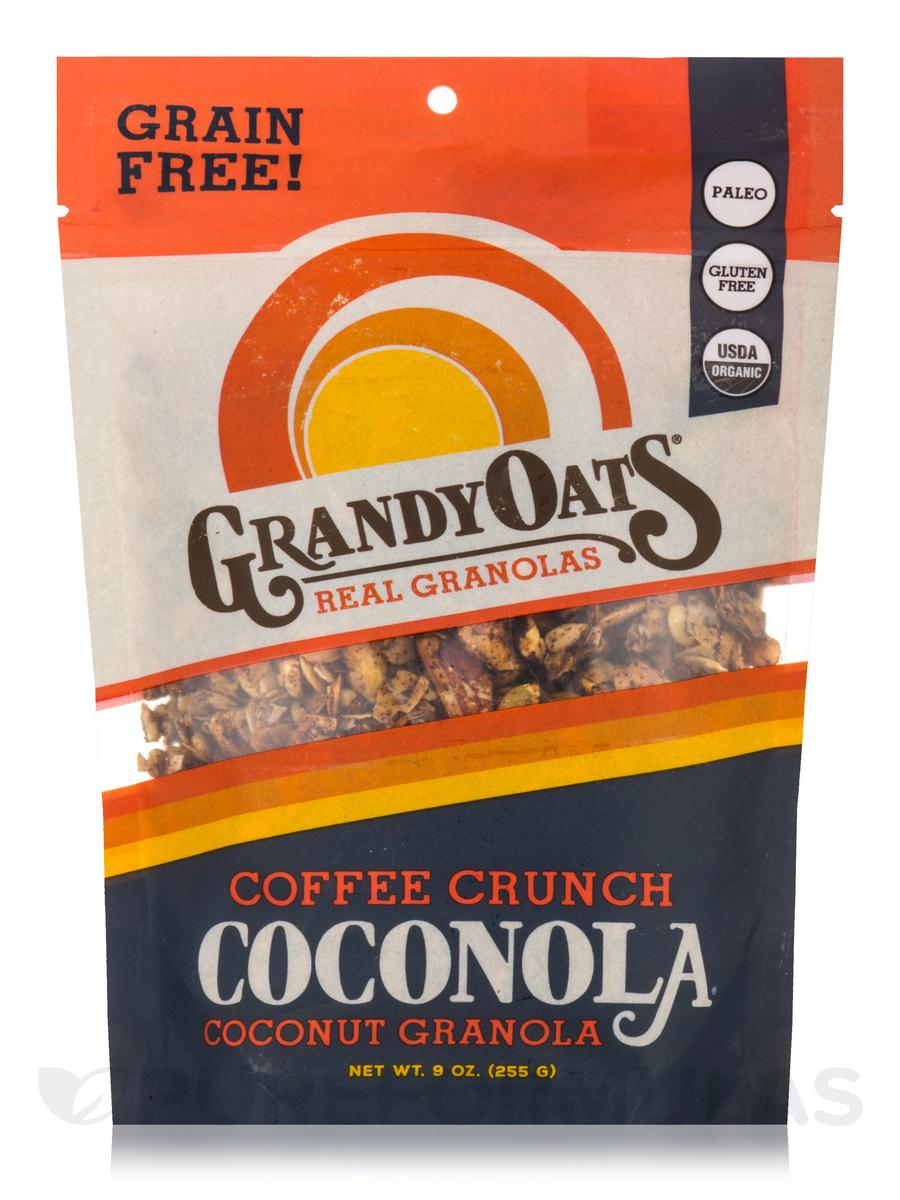 Grain Free Coffee Crunch Coconola (Coconut Granola) - 9 oz (255 Grams)
