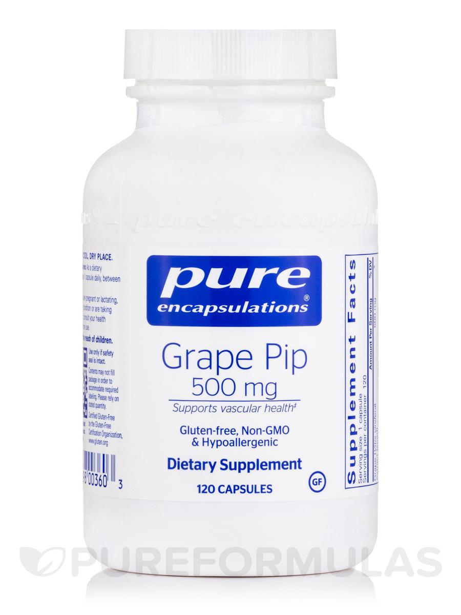 Grape Pip 500 mg - 120 Capsules