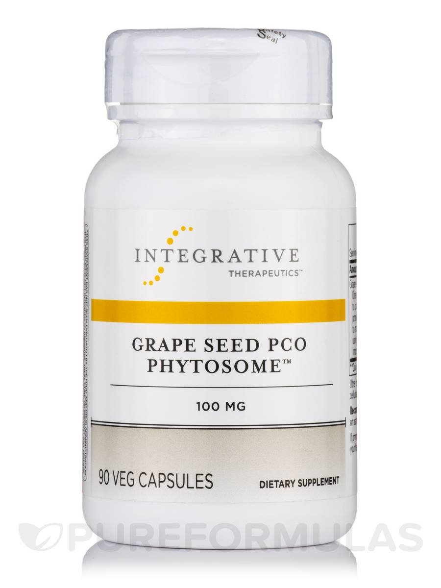 Grape Seed PCO Phytosome 100 mg - 90 Vegetable Capsules