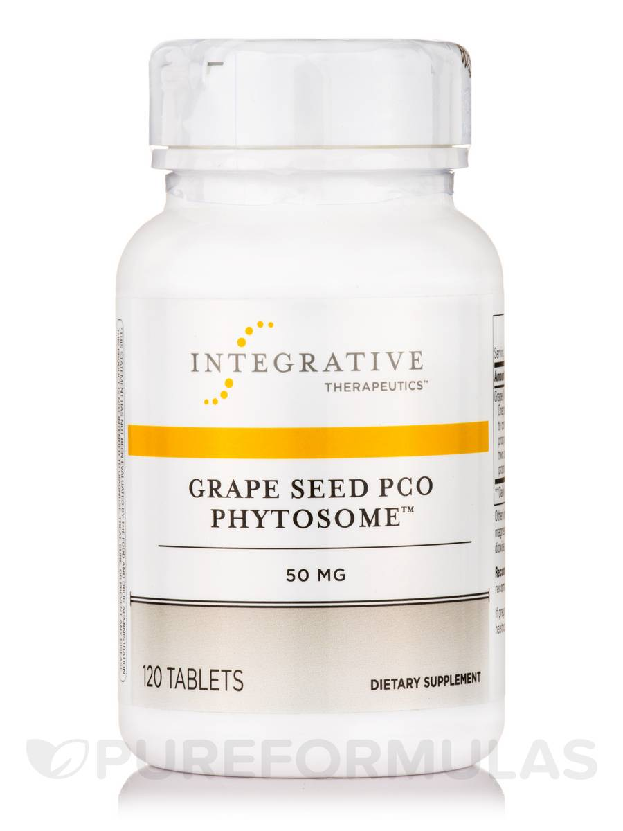 Grape Seed PCO Phytosome™ 50 mg - 120 Tablets