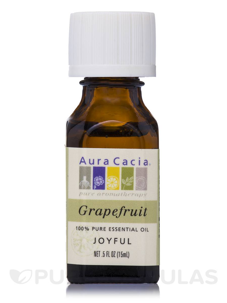 Grapefruit Essential Oil (Citrus x paradisi) - 0.5 fl. oz (15 ml)