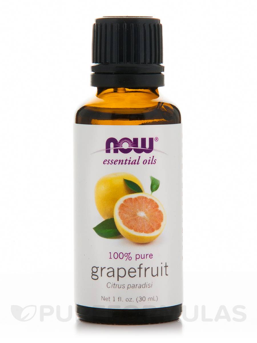 NOW® Essential Oils - Grapefruit Oil - 1 fl. oz (30 ml)