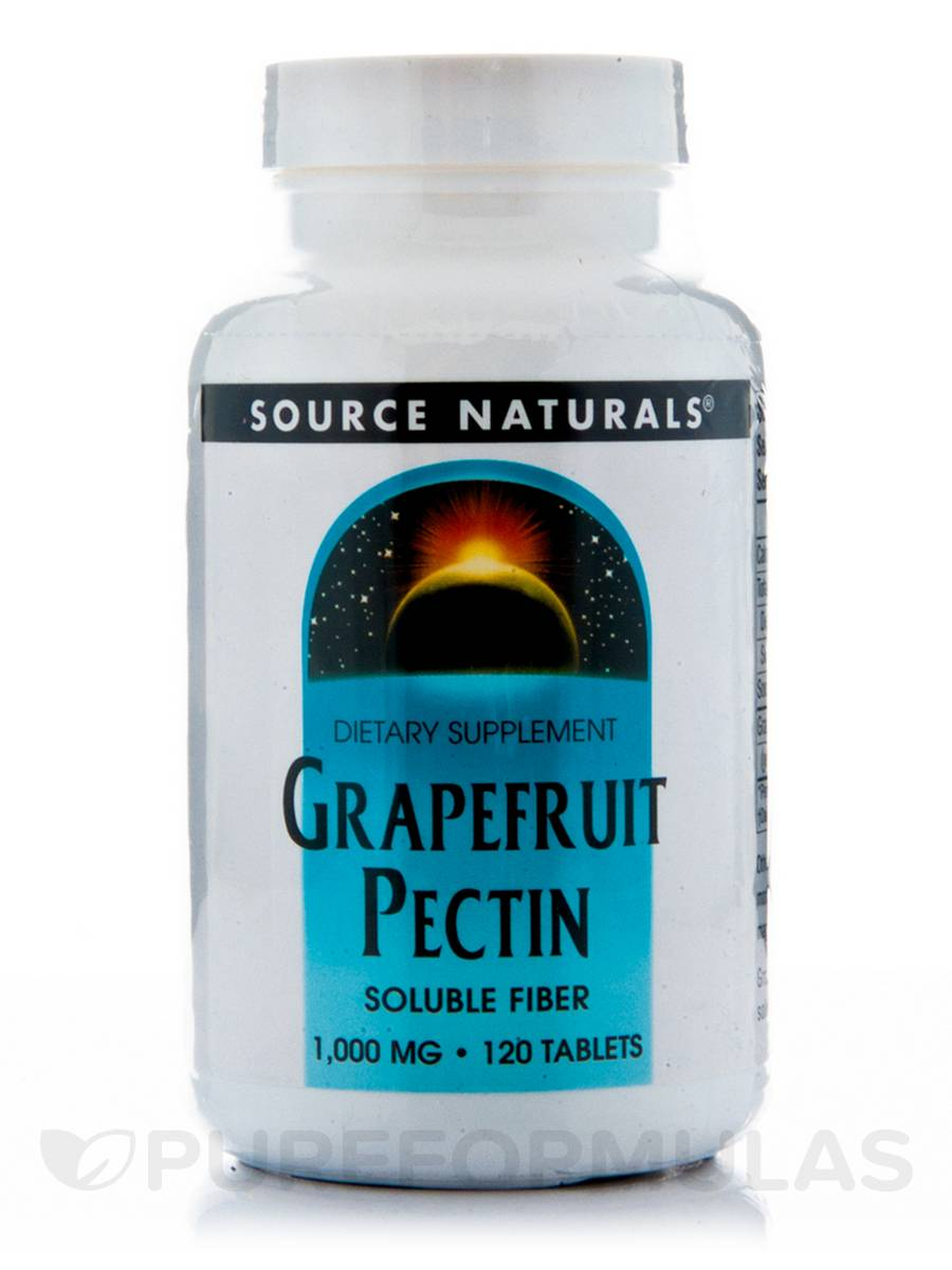 Grapefruit Pectin 1000 mg - 120 Tablets