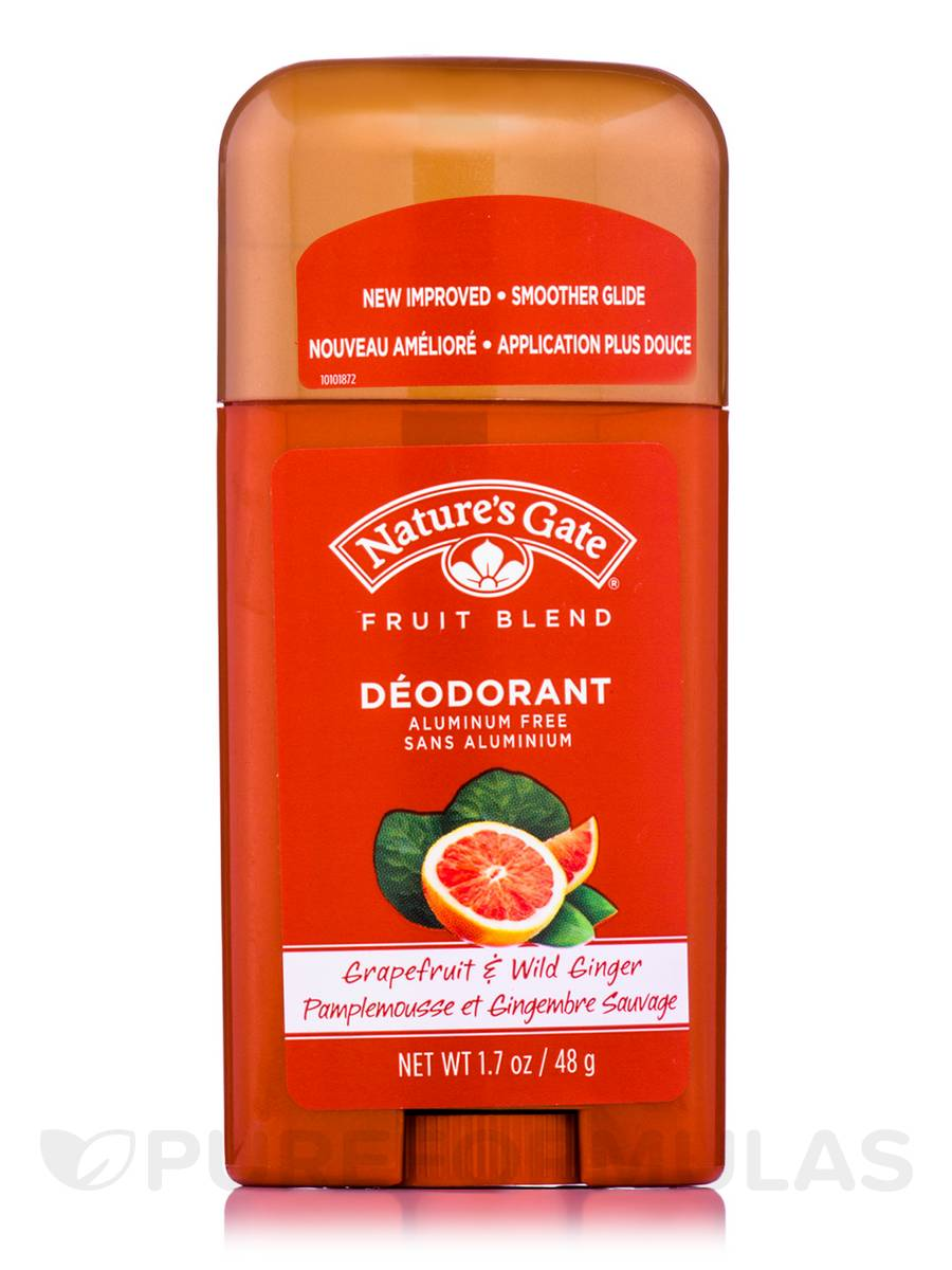 Grapefruit & Wild Ginger Deodorant Stick - 1.7 oz (48 Grams)