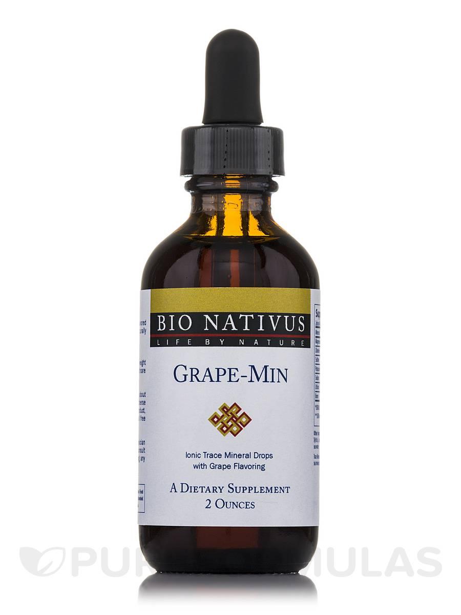 Grape-Min Multi-Mineral Grape Flavored - 2 fl. oz