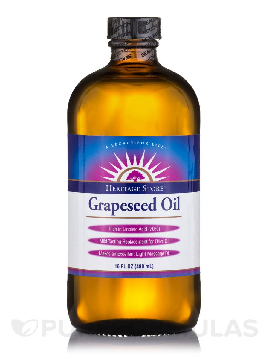 Grapeseed Oil - 16 fl. oz (480 ml)