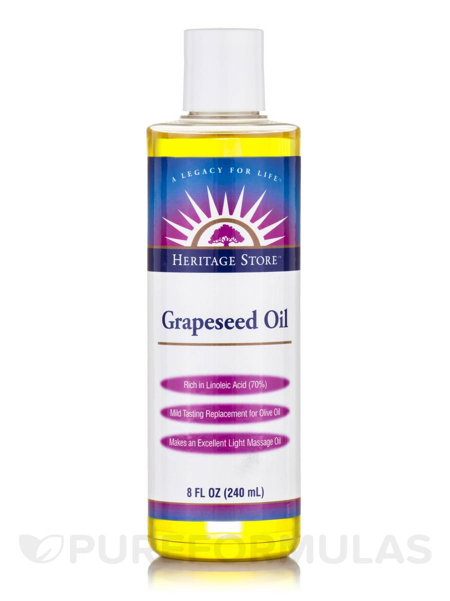 Grapeseed Oil - 8 fl. oz (240 ml)
