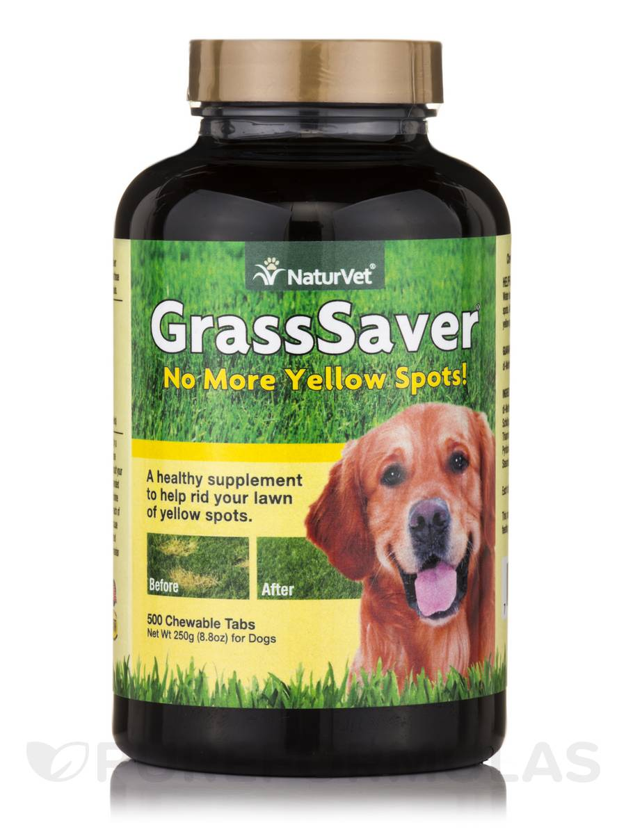GrassSaver for Dogs - 500 Chewable Tablets
