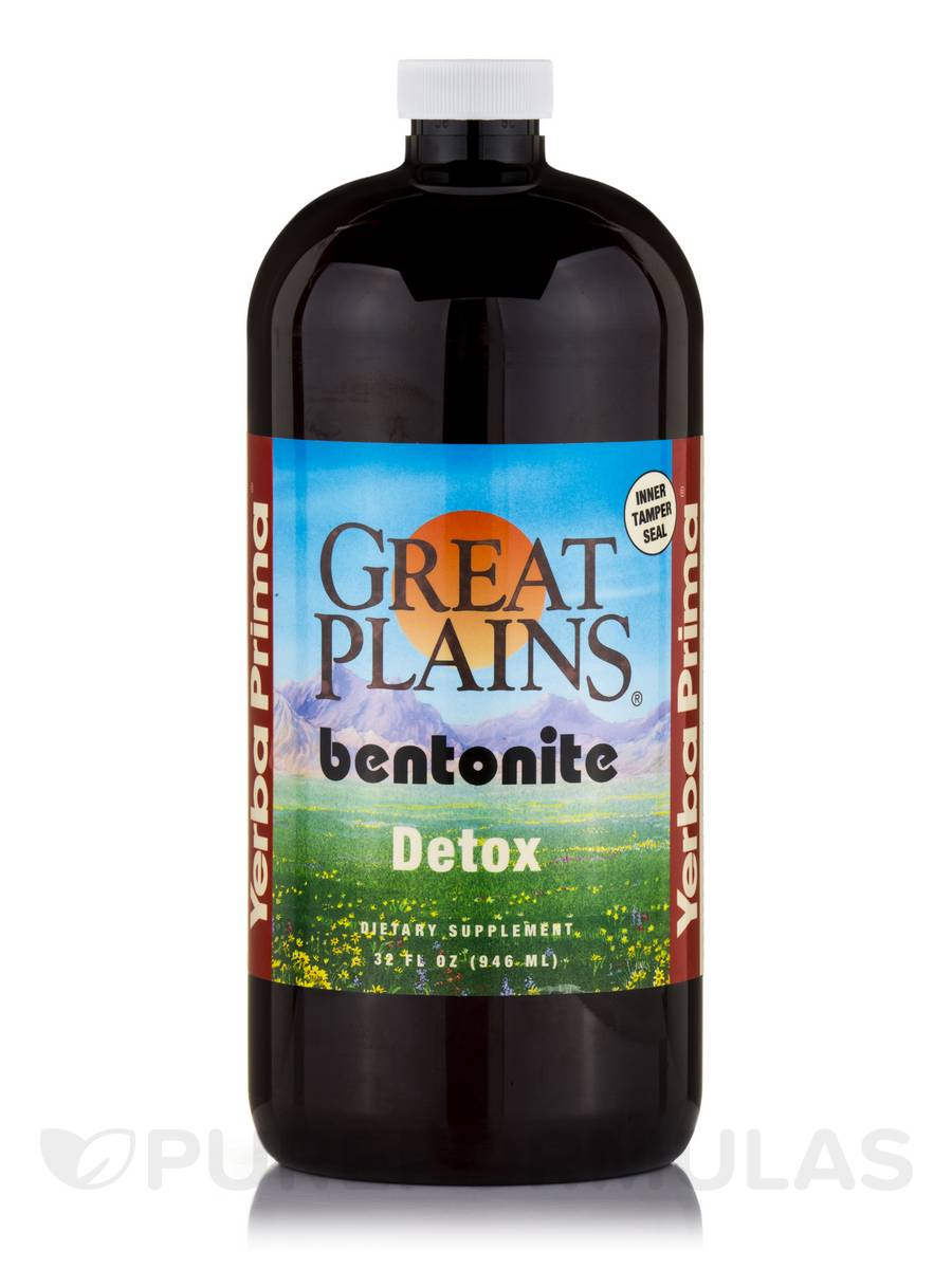Plains Bentonite Detox Fl Oz Ml - Bentonite us map