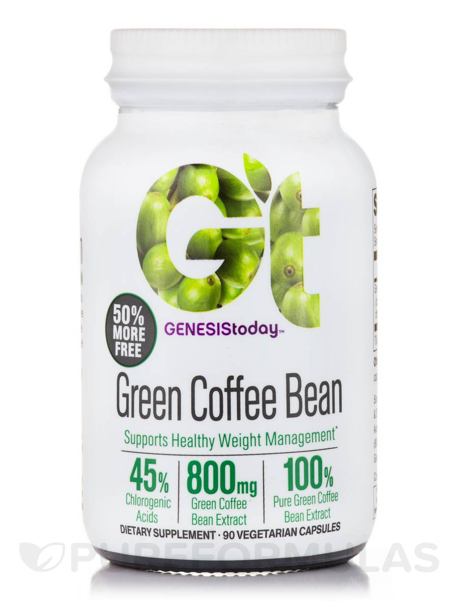 Green Coffee Bean - 90 Vegetarian Capsules