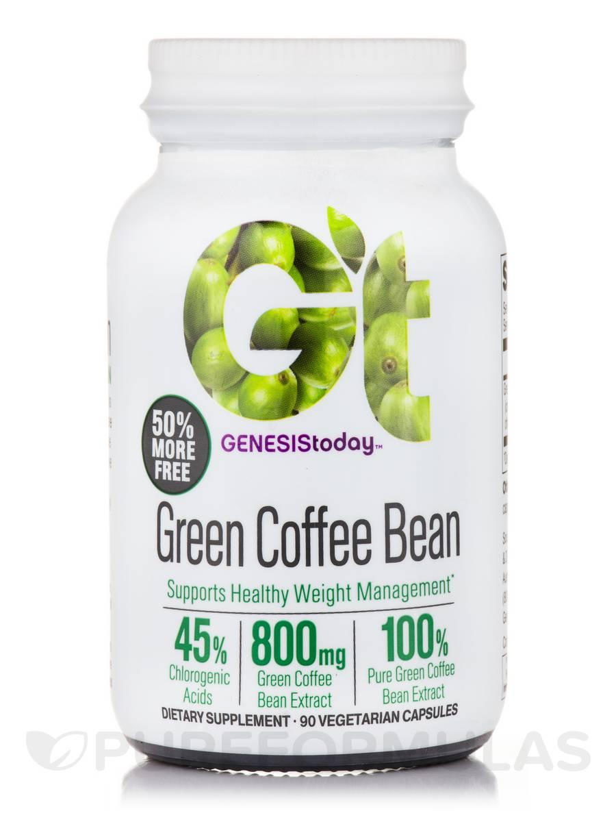 Green Coffee Bean - 60 Vegetarian Capsules