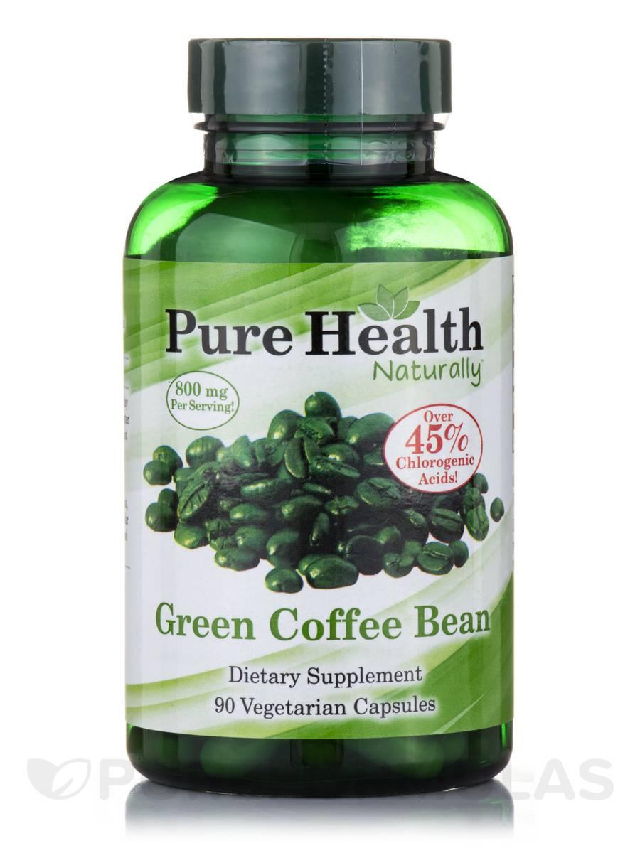 Pure Green Coffee Bean - 90 Vegetarian Capsules
