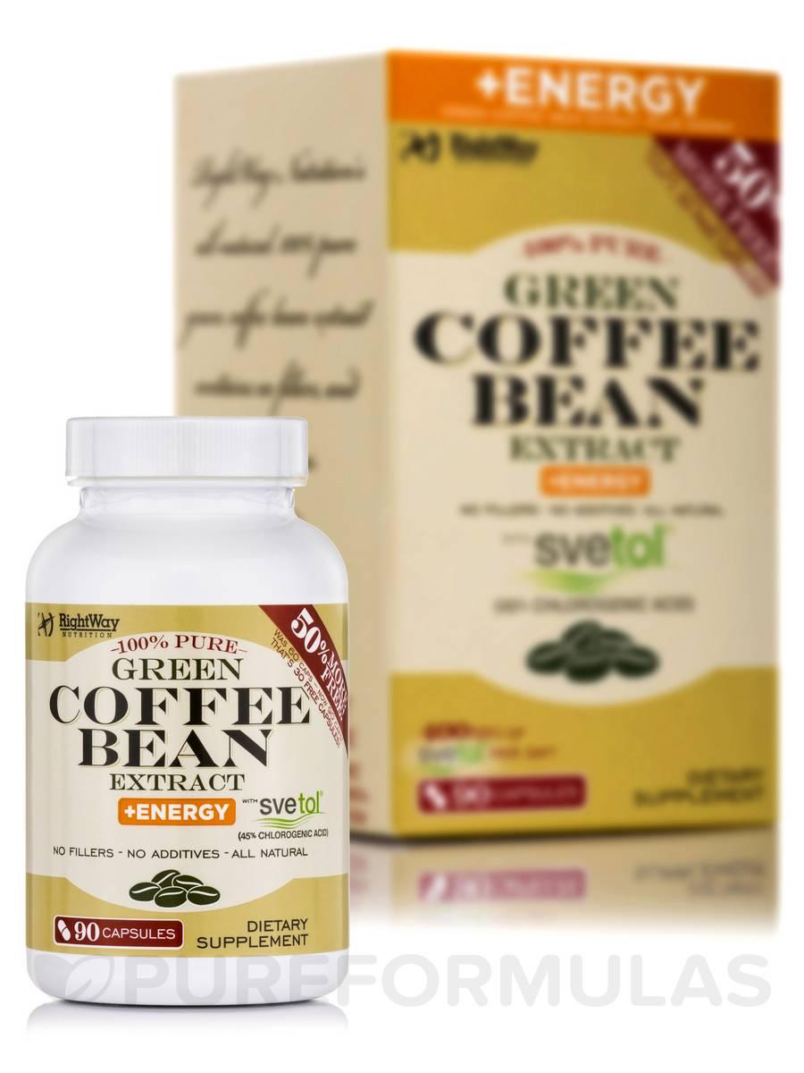 Green Coffee Bean + Energy - 90 Capsules