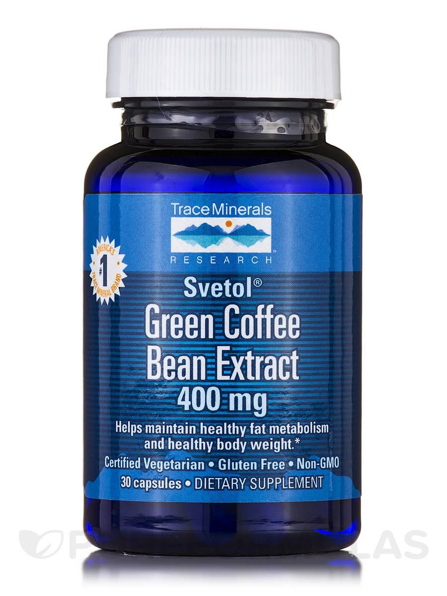 Green Coffee Bean Extract (Svetol®) 400 mg - 30 Capsules