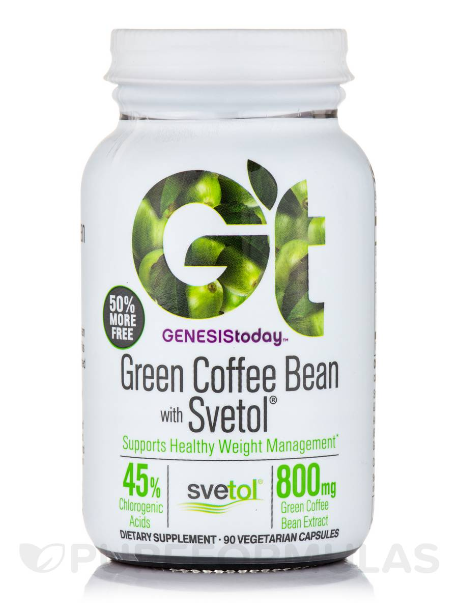 Green Coffee Bean with Svetol - 60 Vegetarian Capsules