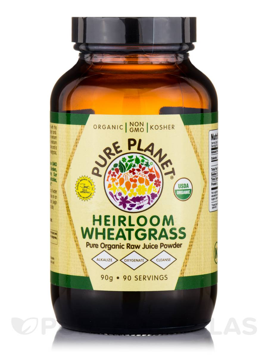 Heirloom Wheatgrass Powder - 90 Servings (90 Grams)