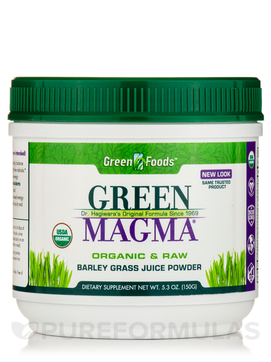 Green Magma - 5.3 oz (150 Grams)