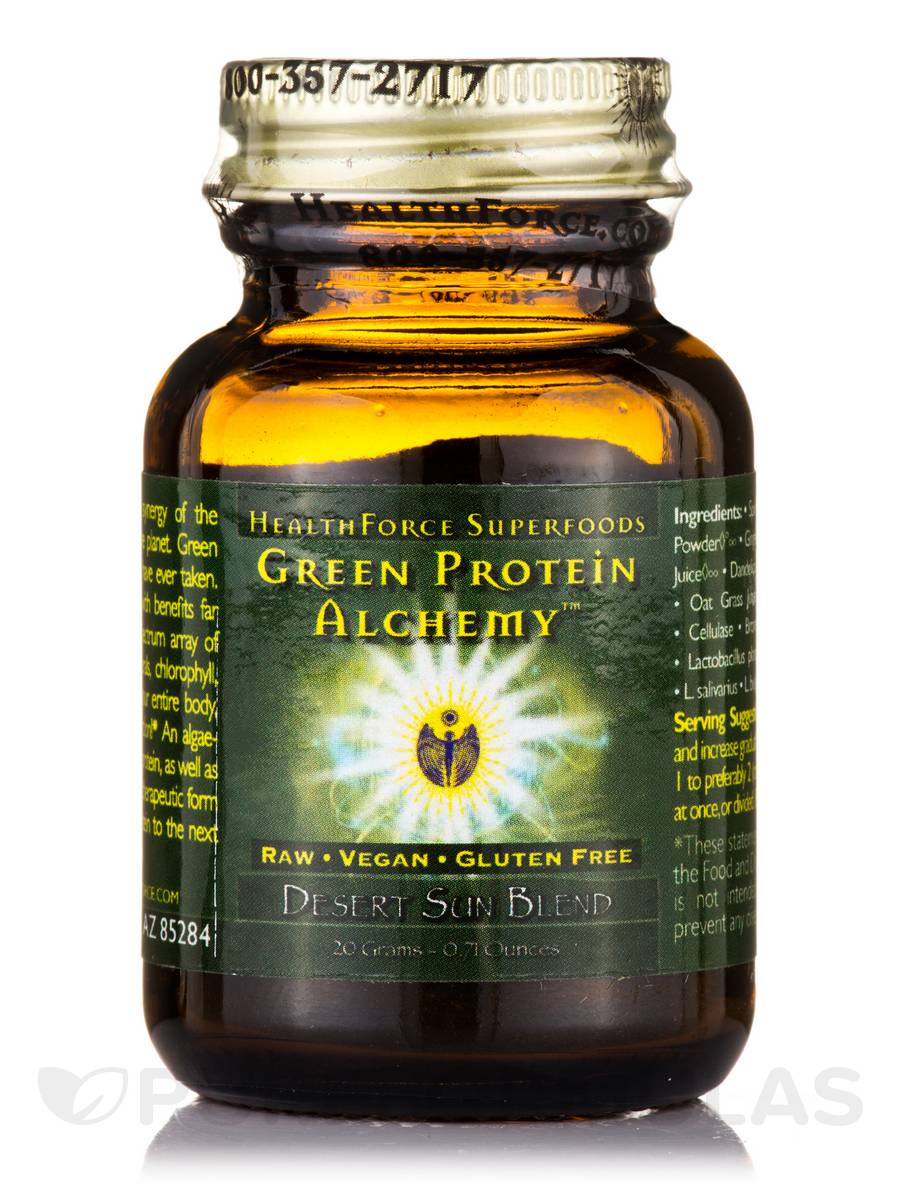 Green Protein Alchemy™ Desert Sun Blend Powder - 0.71 oz (20 Grams)