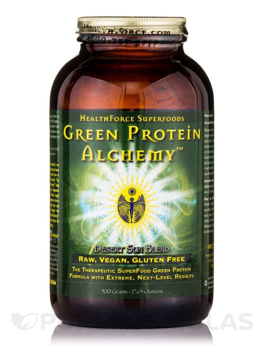 Green Protein Alchemy™ Desert Sun Blend Powder - 17.65 oz (500 Grams)