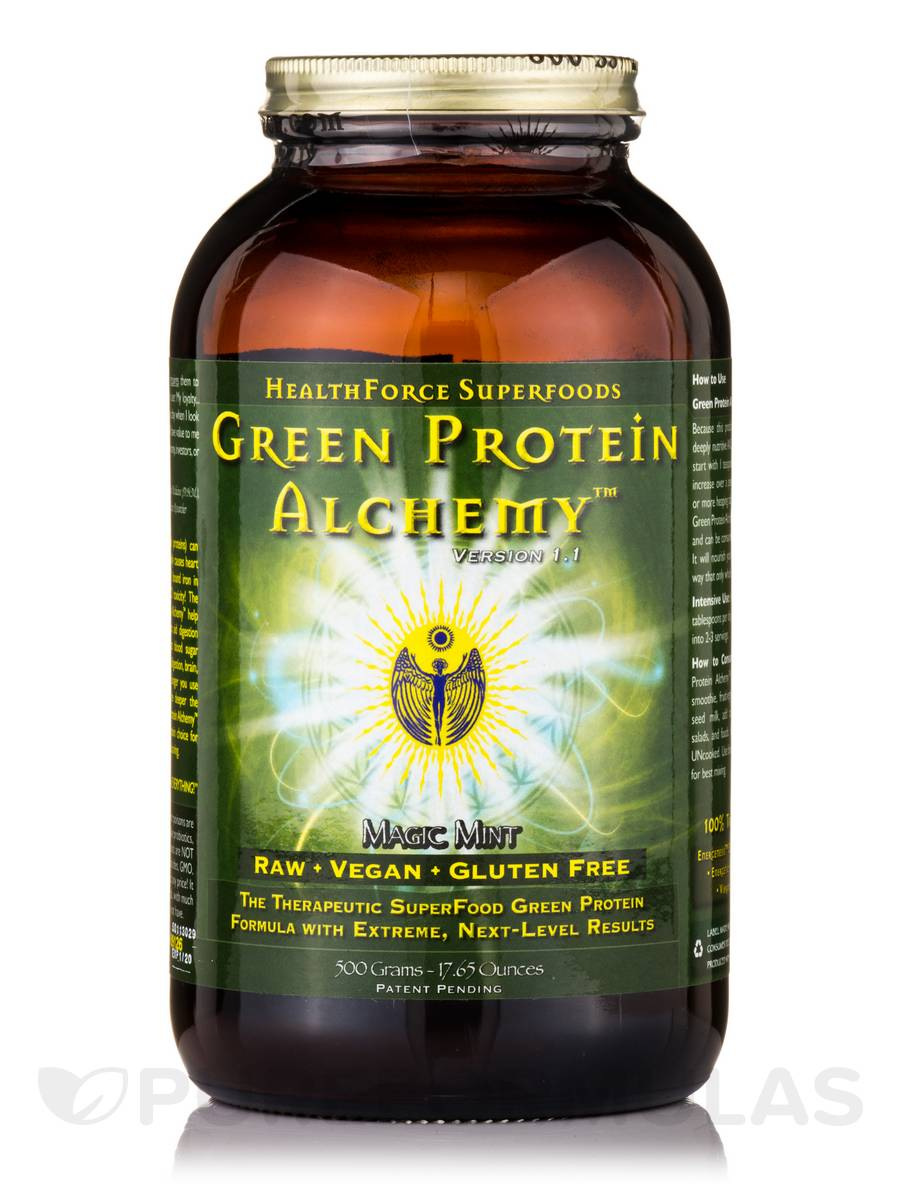 Green Protein Alchemy™ Magic Mint Powder - 17.65 oz (500 Grams)