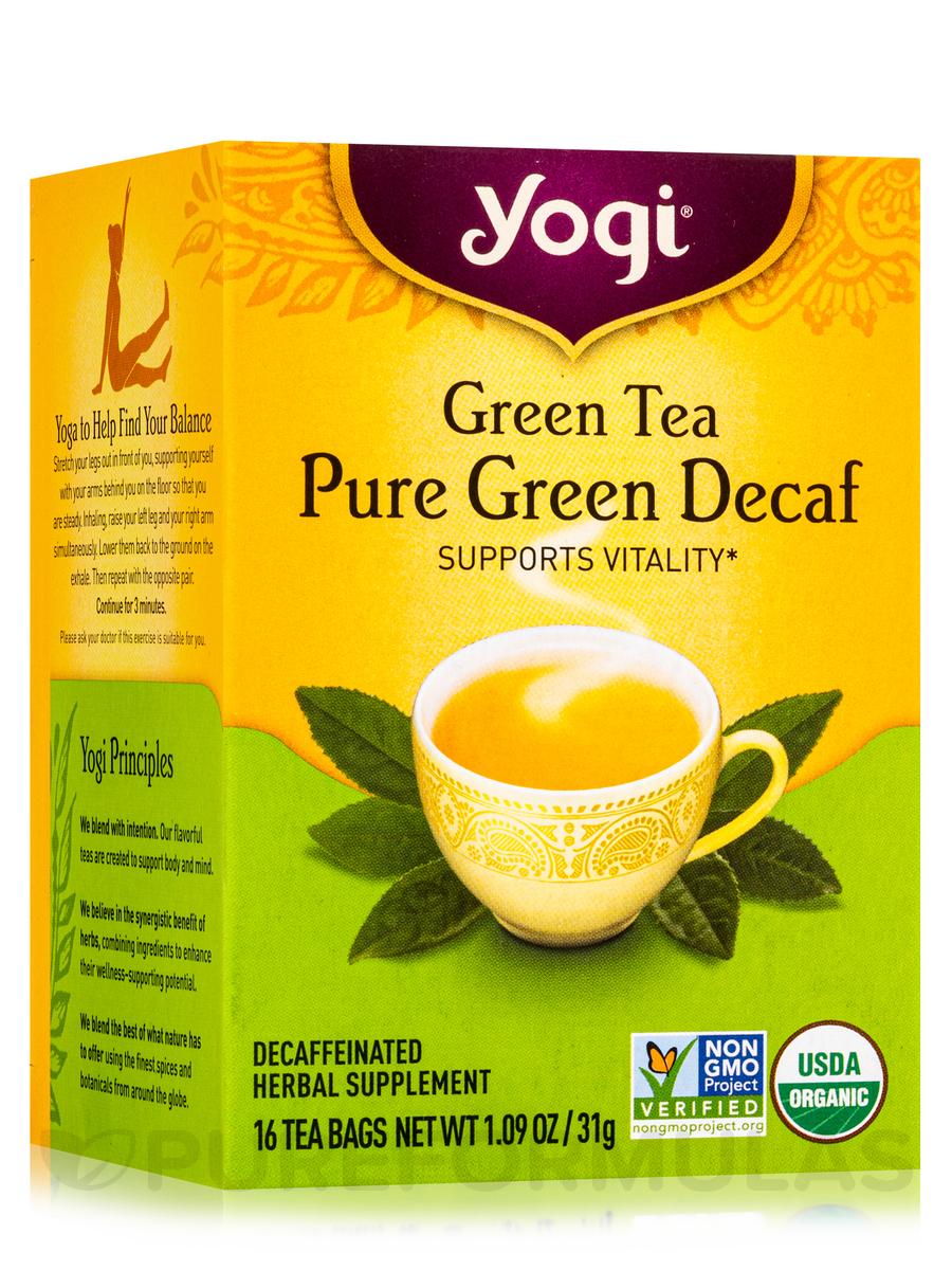 Green Tea Pure Green Decaf™ - 16 Tea Bags