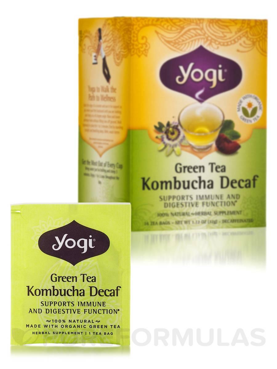 Green Tea Kombucha Decaf - 16 Tea Bags