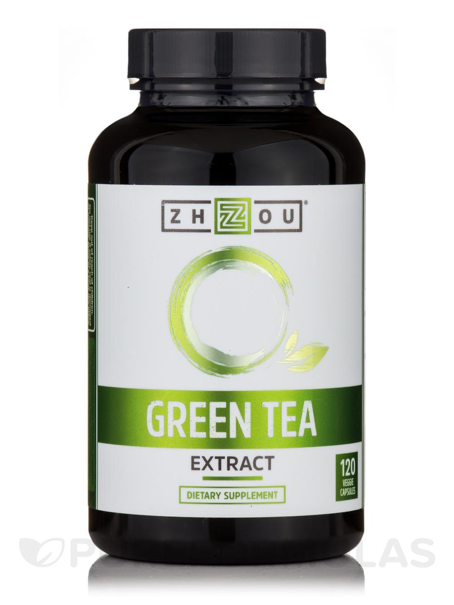 Green Tea Extract - 120 Veggie Capsules
