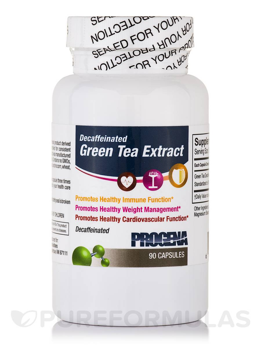 Green Tea Extract Decaffeinated - 90 Capsules
