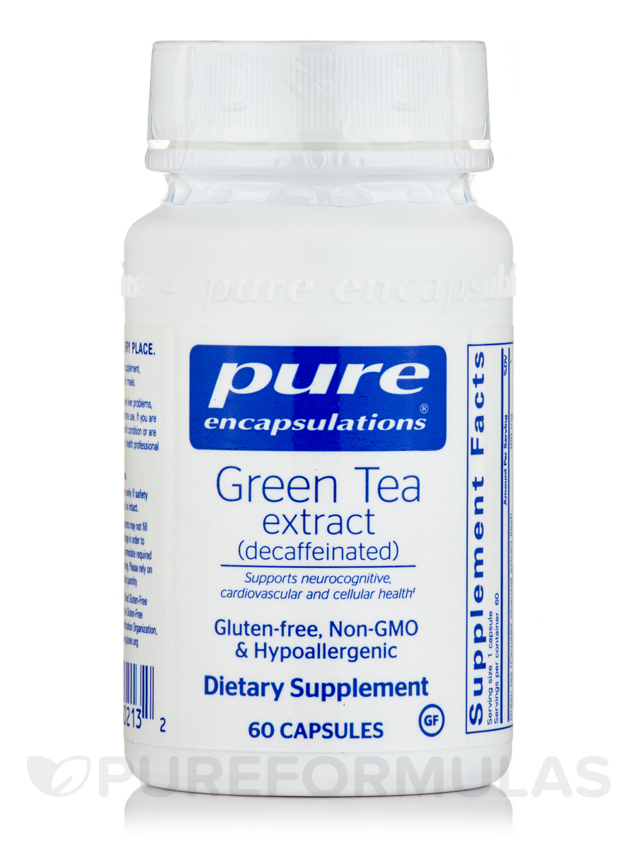 Green Tea Extract (decaffeinated) - 60 Capsules