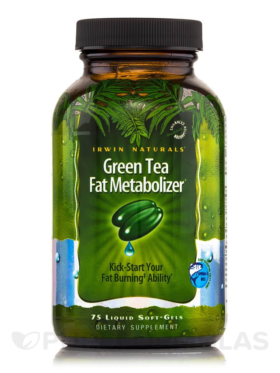 Green Tea Fat Metabolizer - 75 Liquid Soft-Gels