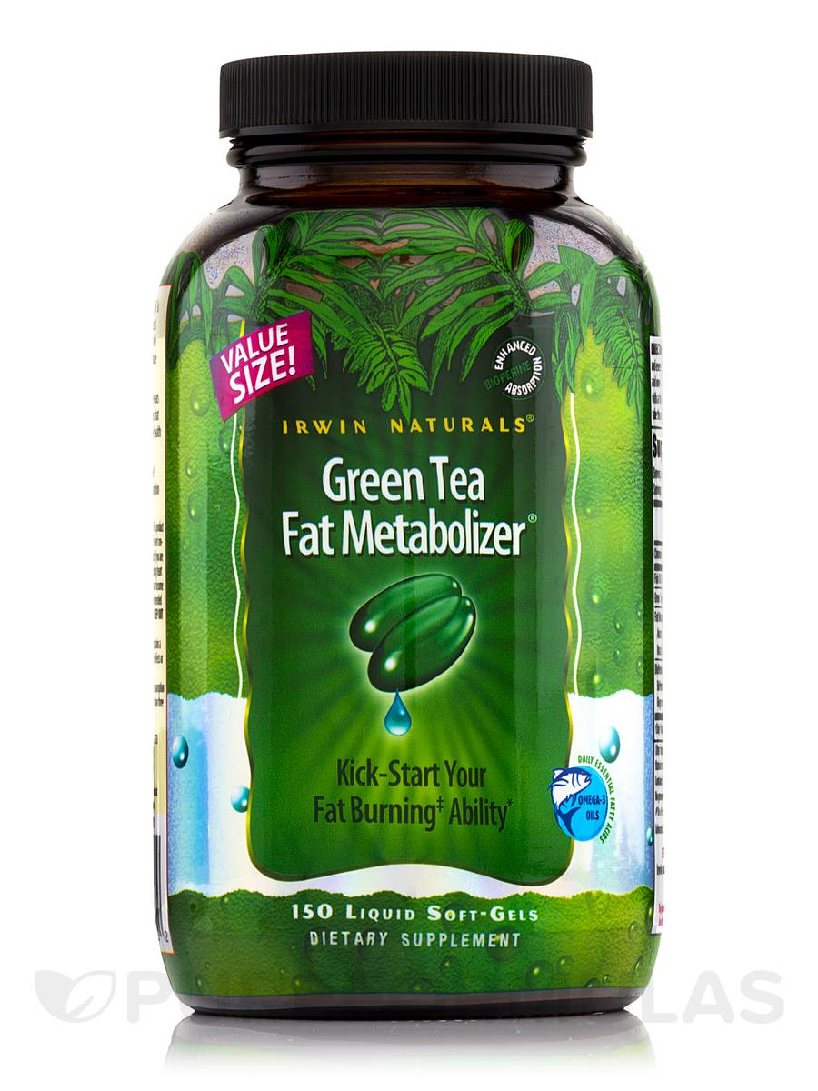 Green Tea Fat Metabolizer - 150 Liquid Soft-Gels