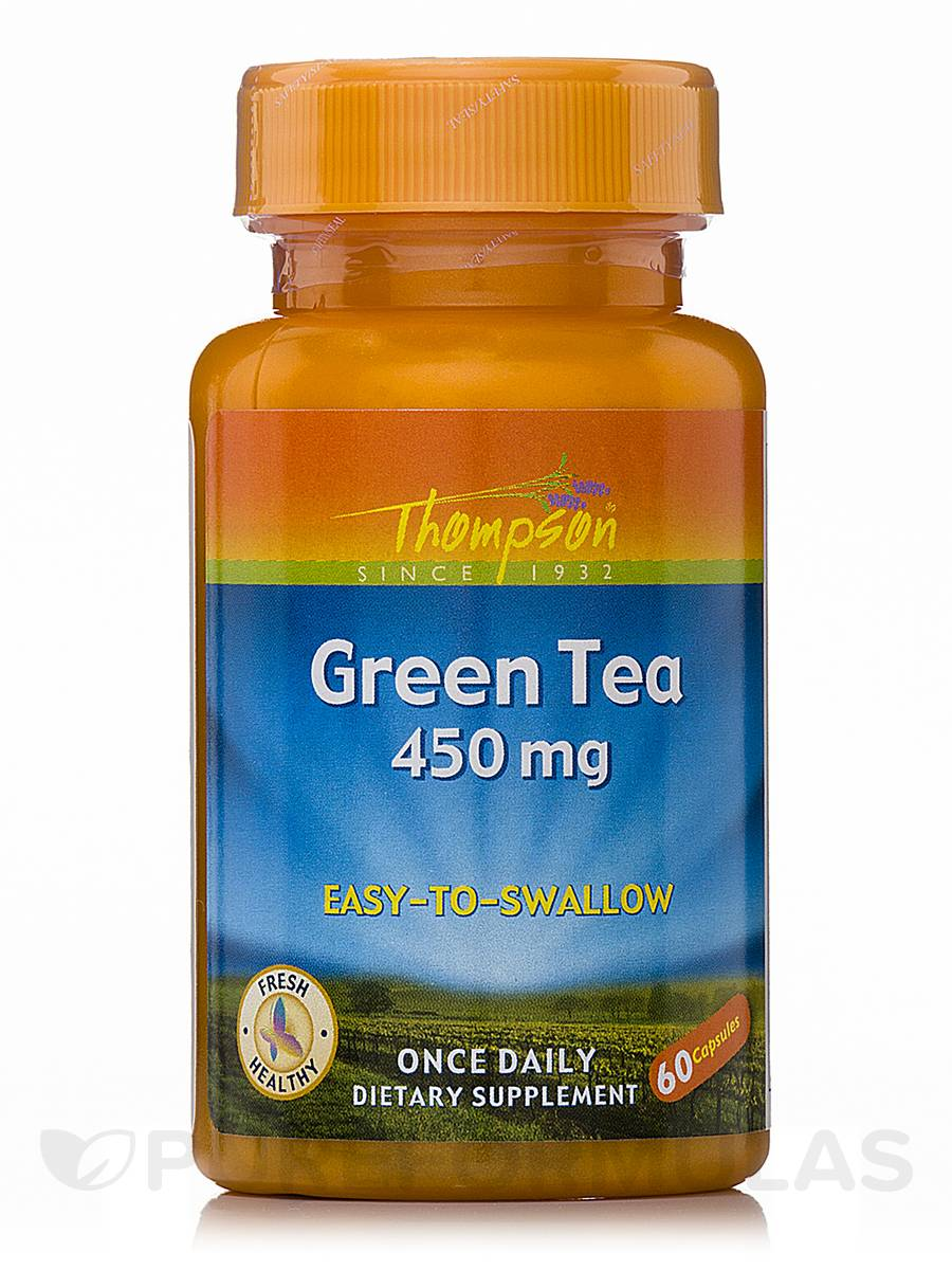 Green Tea (Easy-To-Swallow) - 60 Capsules