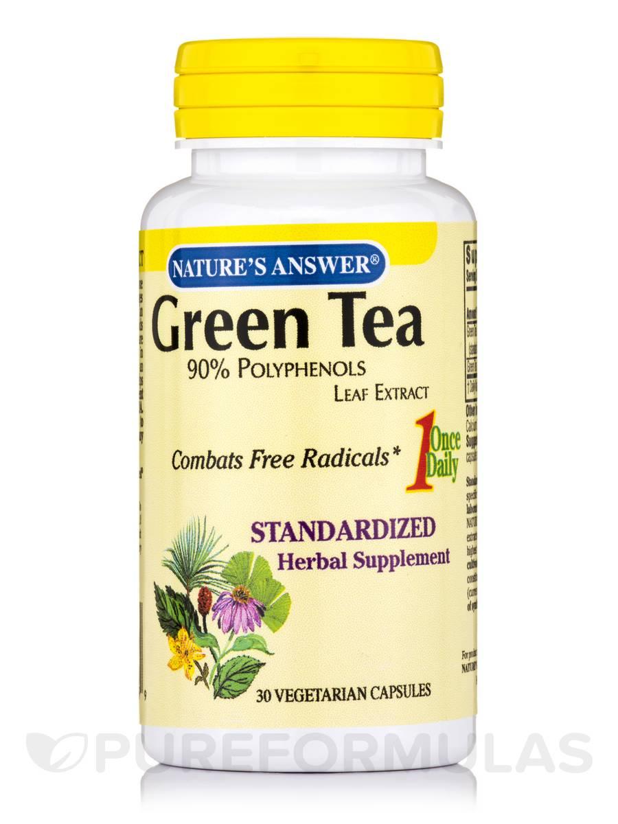 Green Tea Leaf Standardized - 30 Vegetarian Capsules